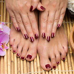 NATURAL NAILS MANICURES & PEDICURES